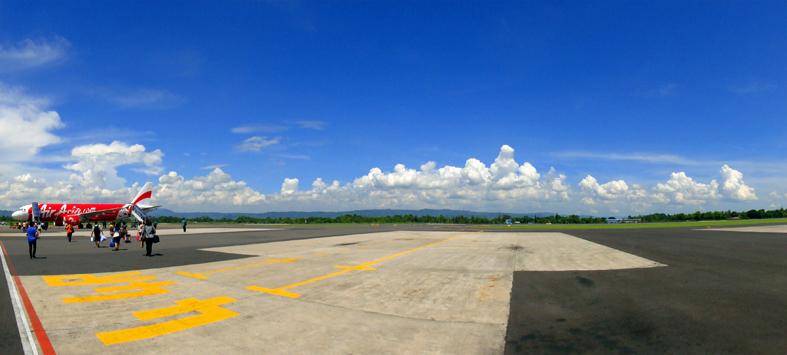 AirAsia di Bandara Adi Sucipto Jogjakarta