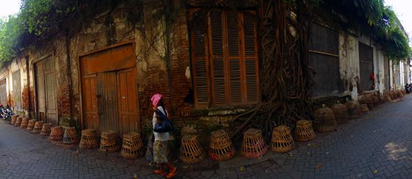 pasar Ayam kota Lama Semarang