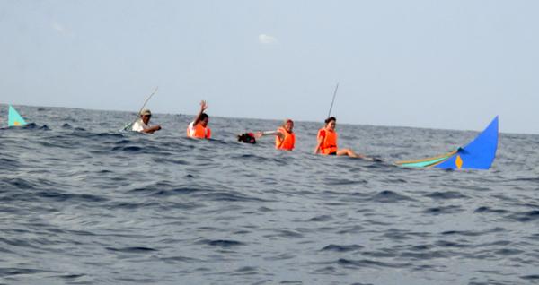 Jukung Jetcoaster - Sensasi Adrenalin di Lautan Lepas
