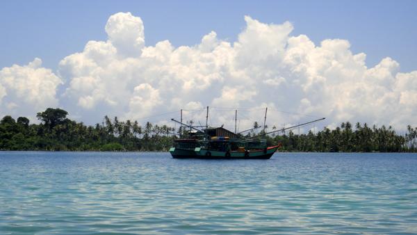 Keramba di Pulau Balai