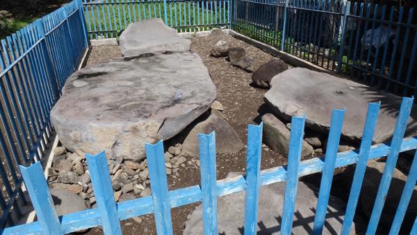 Batu Rajo, Kerinci - Peninggalan Zaman Batu Besar