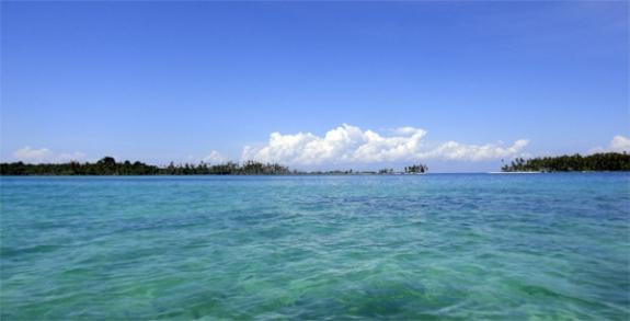 gugusan pulau kecil