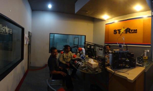 wawancara zoom di radio star fm