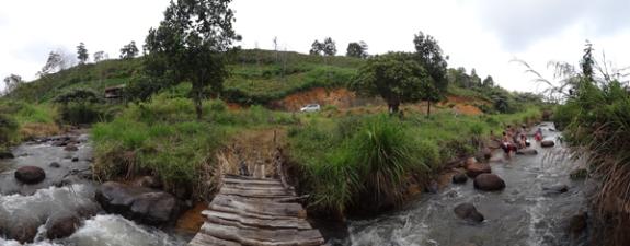 Keindahan sungai di Ranah Kayu Embun
