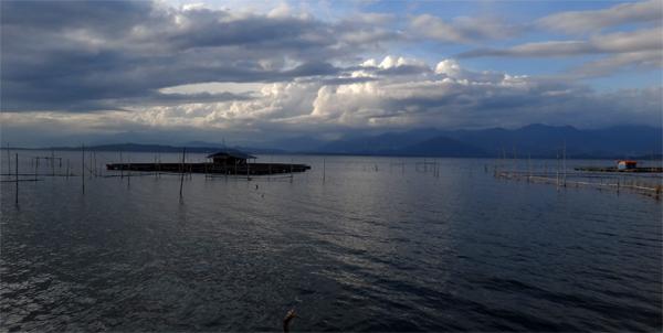 keramba di Danau Kerinci