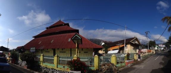 Ikon Kota Sungai Penuh - Masjid Agung Pondok Tinggi
