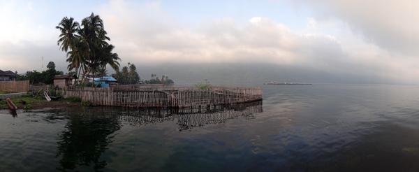 selamat pagi Danau Ranau