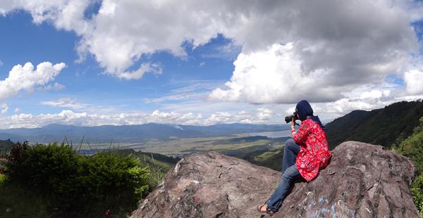 Bukit Khayangan tempat yang tepat untuk Landscaper