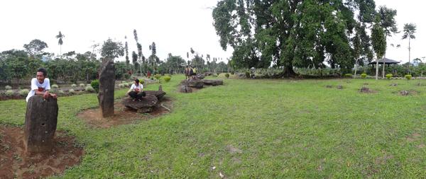 Pohon Besar di Tengah Kompleks SItus