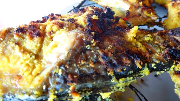 ikan bakar menu andalan rumah makan Telago