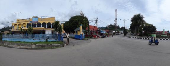 suasana kota Sungai Penuh