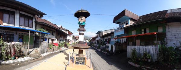 Makam Sutan Kamat - di tengah jalan