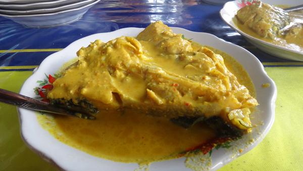 Gulai Ikan Semah - khas Kerinci