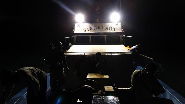 mancing mania - salah satu agenda Krakatoa Adventure