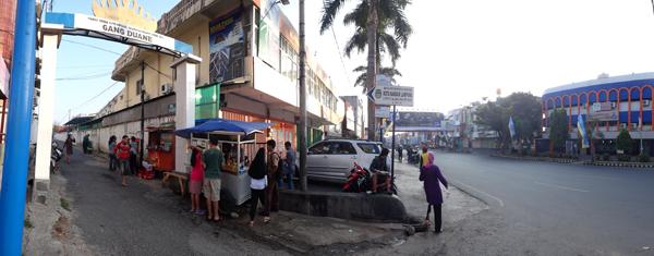 gerobak bubur - tepat berada di depan Lembaga Kursus LIA jalan Kartini