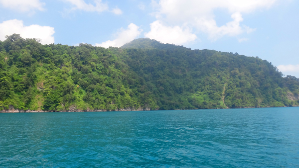 meninggalkan Laguna Cabe