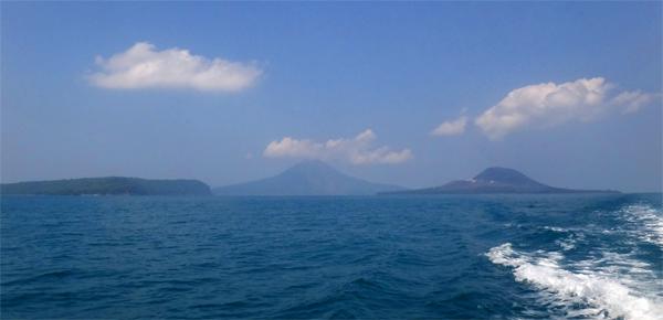 gugusan Pulau Panjang, Rakata dan Anak Krakatau