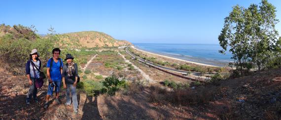 spot pertama - Bukit Tasi Tulo , Dili , Timor Leste
