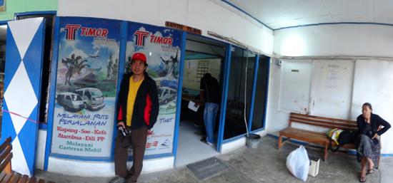 administrasi - tempat membeli tiket Dili Travel di Kupang