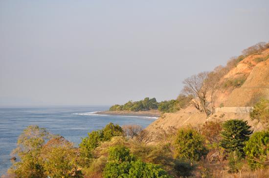 indah-pemandngan laut Savu di utara