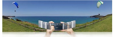 Sweep Panorama - fitur kamera keluaran SONY