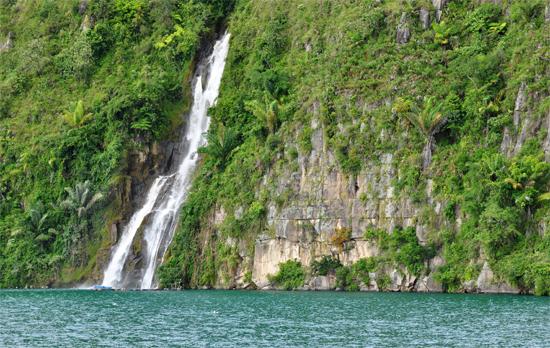 Air Terjun Situmurun - desa Binangalom kecamatan Lumban Julu