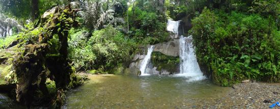 Air Terjun Dua Tingkat - Taman Eden 100