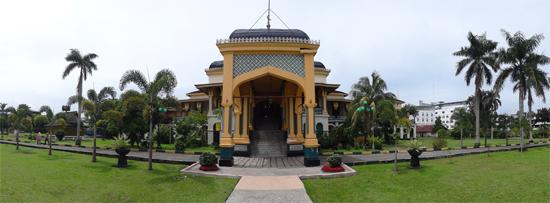 Kubah Istana Gaya Persia Curve