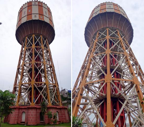 Tower Air Tirtanadi Setinggi 42 meter