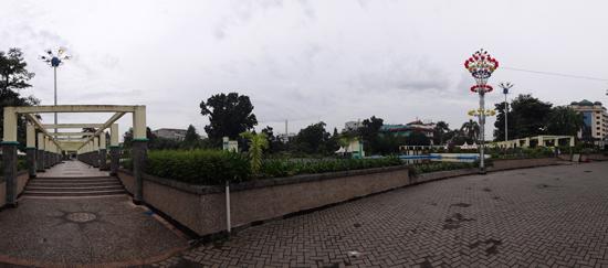 Spot Anak Muda - Taman Kolam Raya Sri Deli
