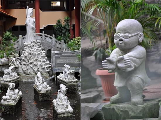 patung  - ornamen penghias kolam