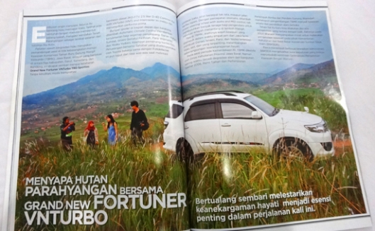 Jalan bersama tim National Geographic Indonesia