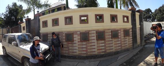 Rumah KD dan suami di Kampung Alor