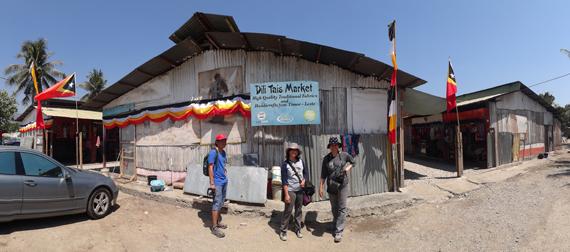 Tais Market - menjual kerajinan khas Timor Leste