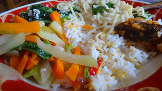 Nasi jagung kuliner khas Flores