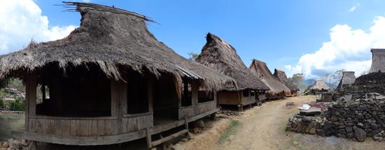 Desa Wologai - antara Ende dan Moni