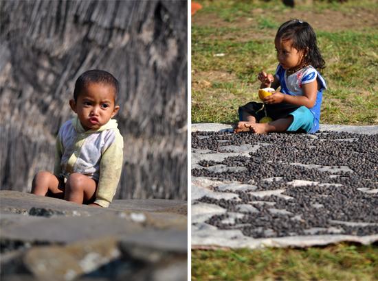 wisatawan tidak diperkenankan memberi makanan dan uang kepada anak-anak di Wae Rebo