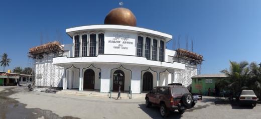 An Nur msjid terbesar di kota Dili Timor Leste