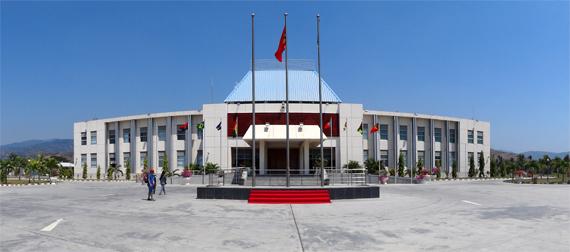 Palacio Presidencial Timor Leste (dokumentasi pribadi)