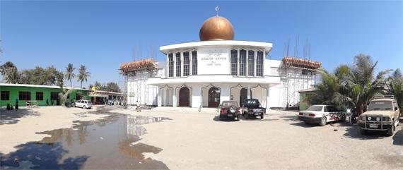 An Nur - masjid terbesar di kota Dili