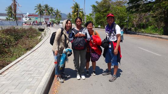 Setelah 17 tahun , Rosalina menjejakan kaki di Indonesia