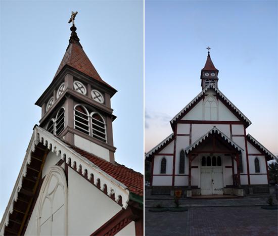 Gereja Tua Sikka - saksi sejarah agama Katolik di Flores