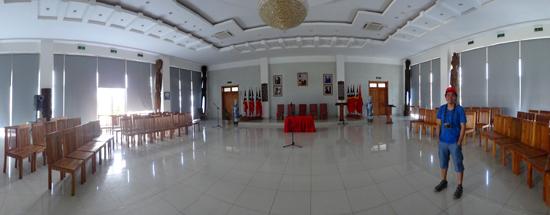pengalaman berharga - narsis di ruang protokoler Palacio Presidencial