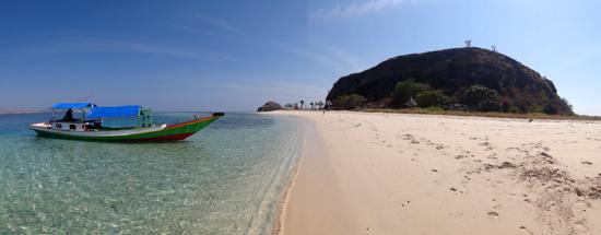 singgah di Pulau Rutong