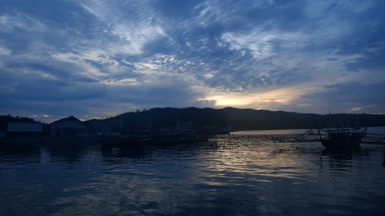 senja di Pelabuhan Carocok