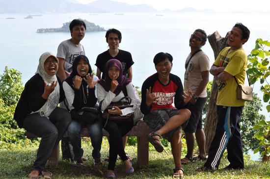 backpacker Malang, Backapcker Padang dan Backpacker Kerinci (lokasi: Gunung Padang)