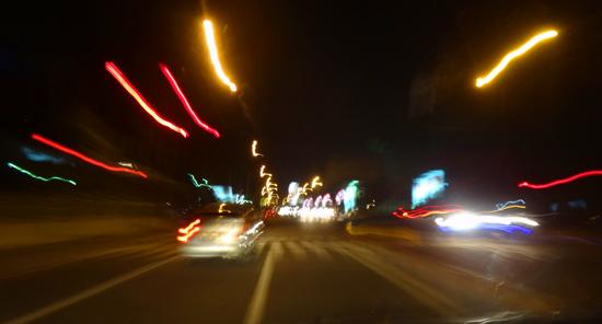 menikmati malam di kota Padang