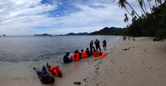 keindahan pantai Kapo-Kapo