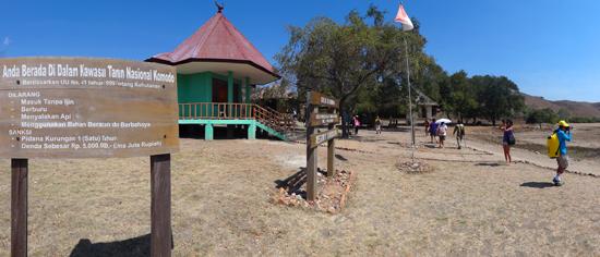 zone inti Taman Nasional Komodo Pulau Rinca