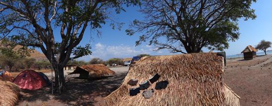Tenda di Pulau Kanawa